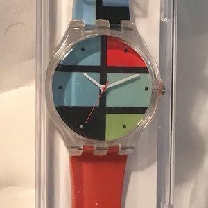 Accessories - The Met Mondrian Watch. NIB